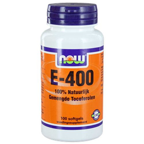 NOW Vitamine E-400 gemengde tocoferolen hond