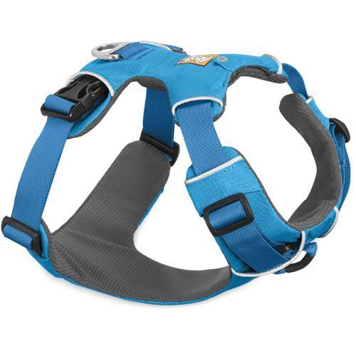 Hondentuig Front Range harness Ruffwear blauw
