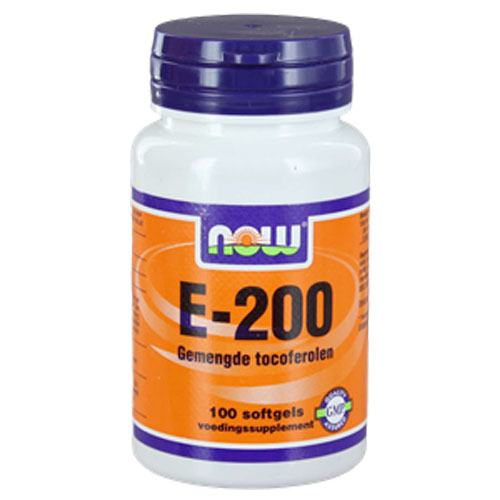 NOW Vitamine E-200 gemengde tocoferolen hond
