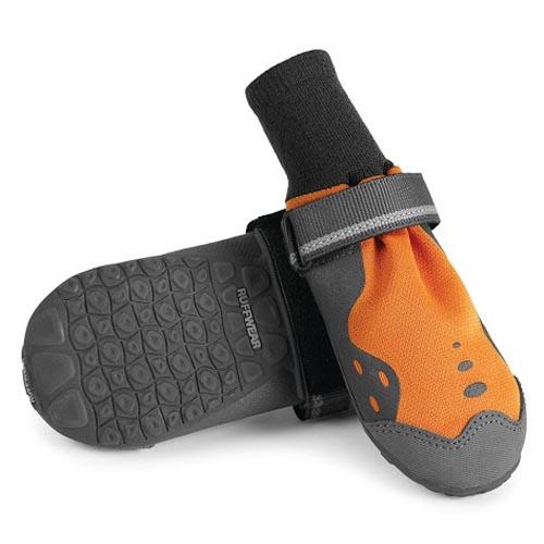Antislip Hondenschoenen Ruffwear Summit Trex 2st oranje