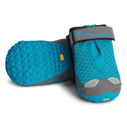 Hondenschoenen Ruffwear Grip Trex 2st blauw