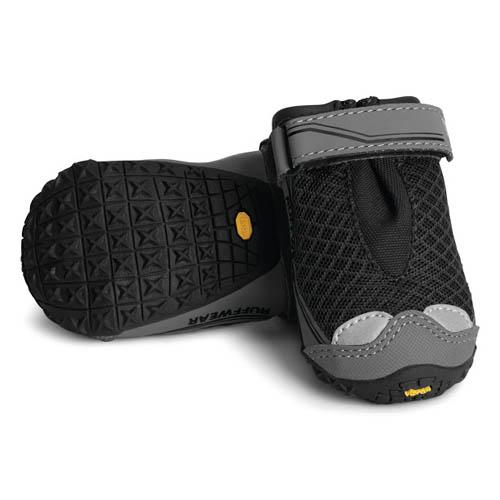 Hondenschoenen Ruffwear Grip Trex 4st zwart