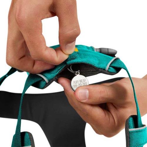 Hondentuig Front Range harness Ruffwear aurora teal